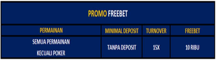 promo freebet terbaru